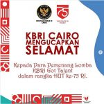 Pemenang Lomba KBRI GO Talent 2020