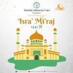 Peringatan Isra Mi,raj di Sekolah Indonesia Cairo